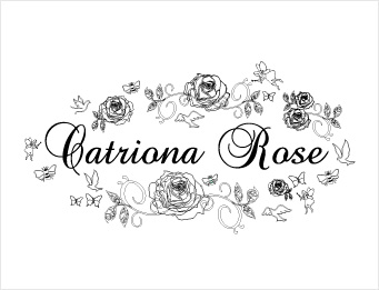 catriona rose logo black and white